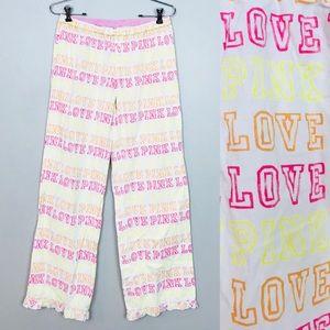 Victoria's Secret Pink Cotton Pajama Pants XS